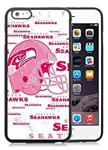 High Quality iPhone 6 Plus 5.5 Inch TPU Case ,Cool And Fantastic Designed Case With Seattle Seahawks 7 Black iPhone 6 Plus Cover