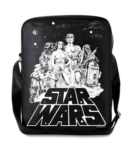 Star Wars Borsa a tracolla - Star Wars - Guerre stellari Borsa - design originale concesso su licenza - LOGOSHIRT