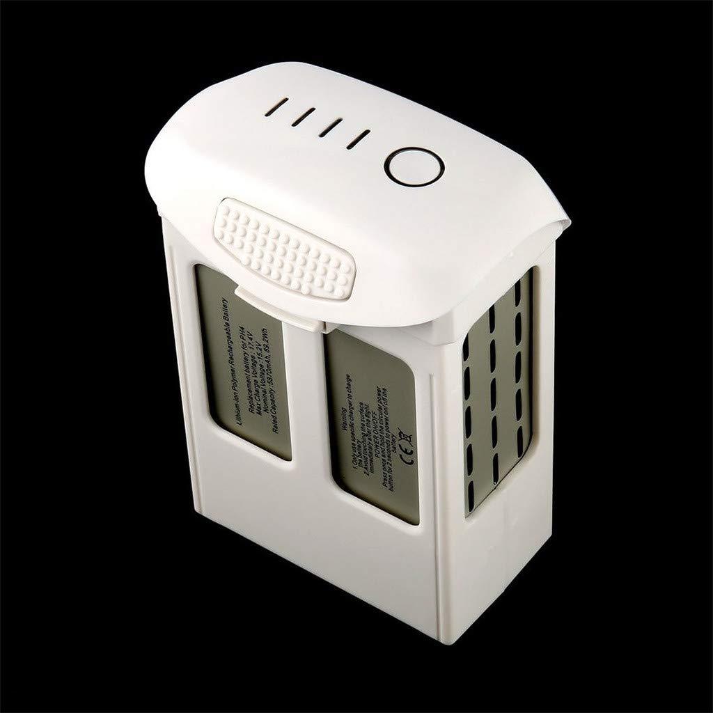 Intelligent Flight Lipo Battery 5870mAh 15.2V for DJI Phantom 4 Series Quality Assurance (White) by Aurorax Electric (Image #3)