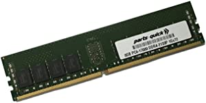 8GB Memory for Dell PowerEdge T130 DDR4 2133MHz ECC UDIMM (PARTS-QUICK Brand)