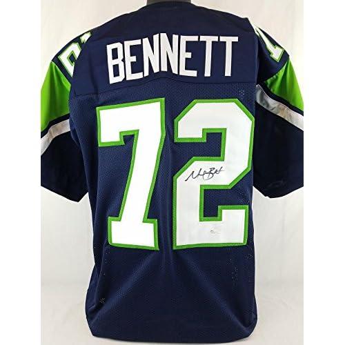 meet 2a1c0 efcd2 Michael Bennett Autographed Jersey - #R17256 - JSA Certified ...