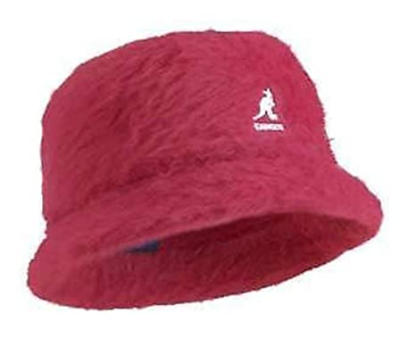 Kangol FURGORA BIN ANGORA BUCKET HAT -FUSCHIA PINK (Small)  Amazon ... 74c42dcff9e