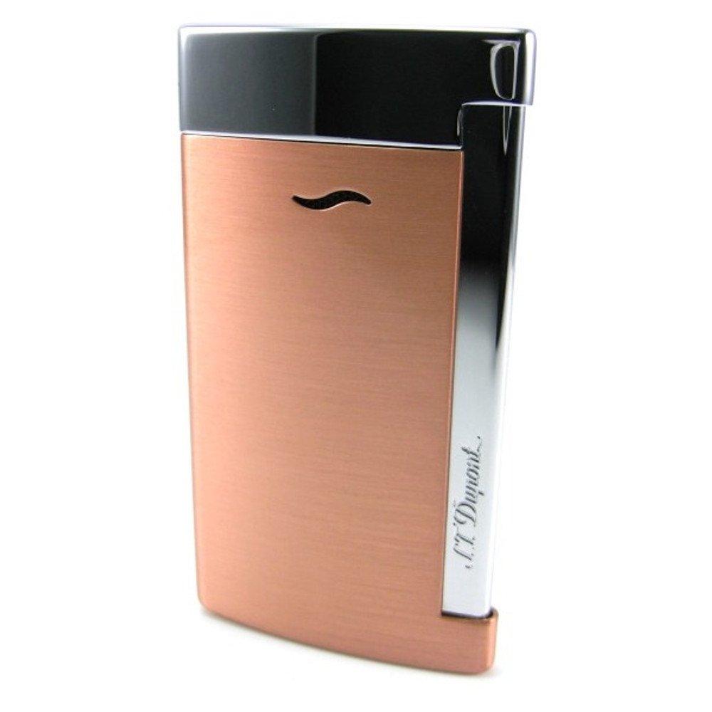 S.T.Dupont (エステーデュポン) トーチフレーム式ライター スリム7 5色 [国内正規品] B01M9AKMZ9 ピンクコッパー ピンクコッパー