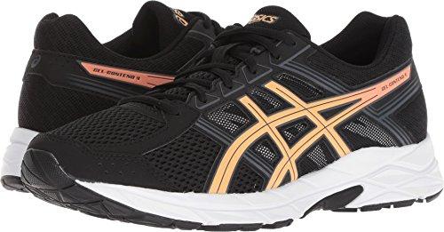 ASICS Womens Gel-Contend 4 Running Shoe, Black, 6 B(M) US