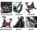 Bicicletta-da-Spinning-Cyclette-Allenamento-Indoor-Bicicletta-Fitness-Bike-E-Trainer-Ab-Attrezzatura-Sportiva-Ideale-Cardio-Trainer-Silent-Belt-Drive-Cycle-Bike-con-RegolabileNero