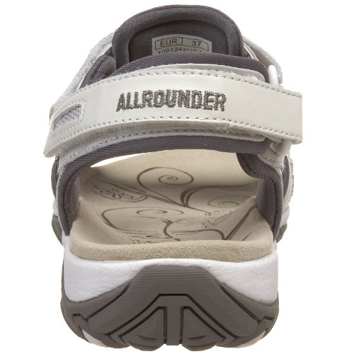 Allrounder By Mephisto Sandale Pour Femme Lagoona Blanc / Gris Chaud