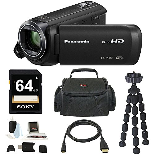 Panasonic Full HD Camcorder with 50x Stabilized Optical