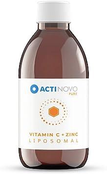 Cinc + Vitamina C Liposomal   alta concentración   para tu ...