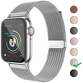 Amazon.com: MCORS for Watch Band 38mm 40mm,Stainless Steel