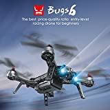 Jiayuane B6 Racing High Speed Brushless Motor Quadcopter Drone with 720P Camera Live Video,1300mAh Lithium Battery Long Flight Time Outdoor Toys for Kids