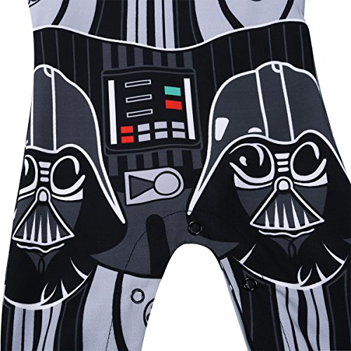 CHICTRY Newborn Baby Boys Kids Star Wars Romper One-Piece Jumpsuit Clothes