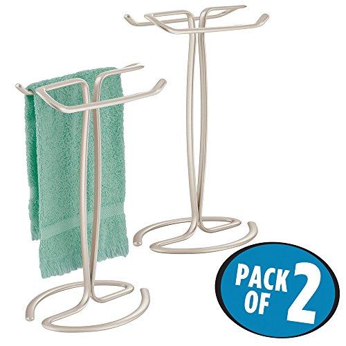 bathroom towel stand countertop - 6