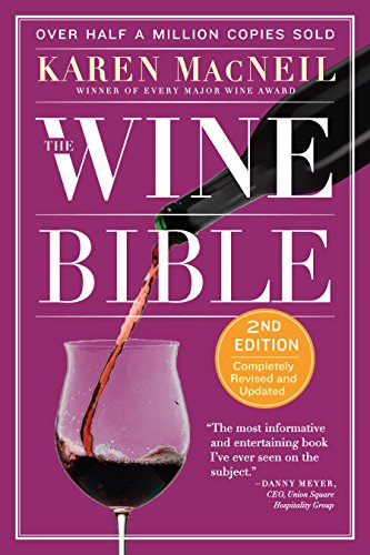 The Wine Bible (Amarone Wine Red)