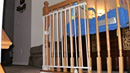 Amazon Com Regalo Top Of Stairs Expandable Metal Gate