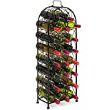 Cheap Best Choice Products 23-Bottle Metal Wine Rack Stand – Black