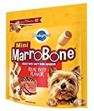 Pedigree Marrobone Real Beef Flavor Mini Snacks For Dogs 15 Oz. (Pack Of 8) For Sale