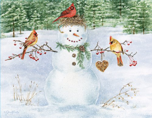 Boxed Christmas Cards Snowman - 9