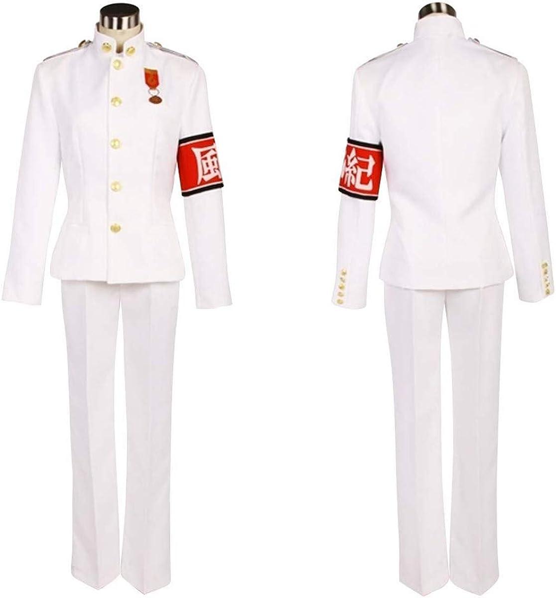 Amazon.com: Kiyotaka Ishimaru Kiyondo White Uniform Suits Outfit Cosplay Cosutme: Clothing
