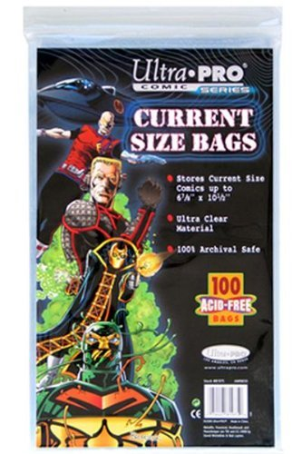 Ultra Pro Comic Bags (Ultra-PRO Comic Bags (Bag of 100) Current (Modern) Size)