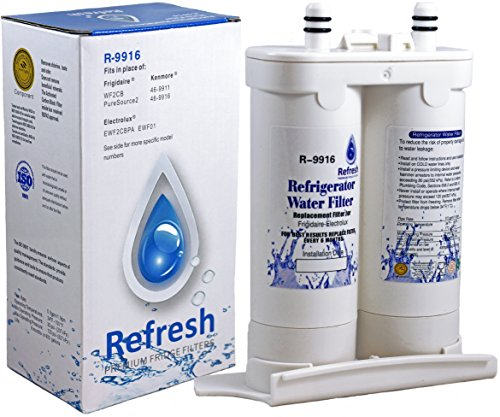 Frigidaire WF2CB PureSource 2 Compatible Water Filter - fits Electrolux EWF2CBPA / Kenmore 46-9911 - Water Filter for Frigidaire Refrigerator (9911 Water Filter compare prices)