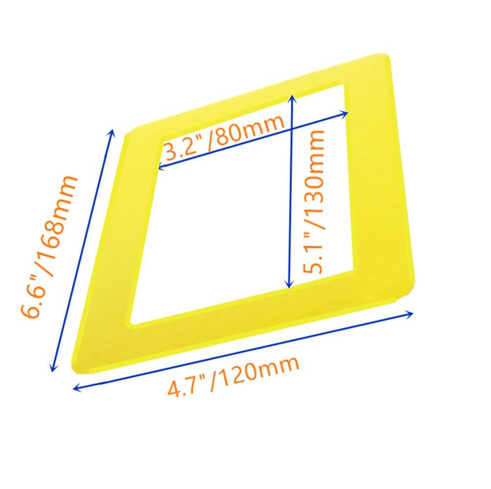 Paquete de 5] SFTlite marco magnético foto refrigerador estándar 4 x ...