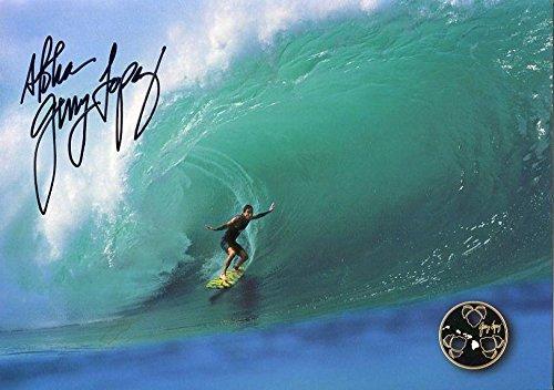 Gerry Lopez Hand Signed 6x8 Color Photo Coa Mr Pipeline