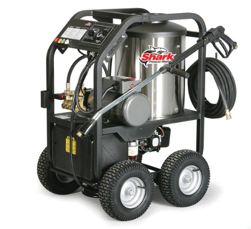 Cheap Shark STP-352007A 2,000 PSI 3.5 GPM 230 Volt Electric Hot Water Commercial Series Pressure Washer
