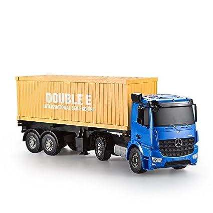 Amazon com: vory 2 4GHZ Remote Control Container Trucks, rc