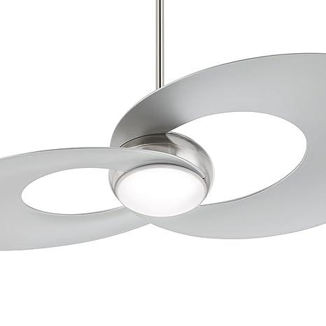 52 innovation brushed nickel led ceiling fan amazon 52quot innovation brushed nickel led ceiling fan aloadofball Choice Image