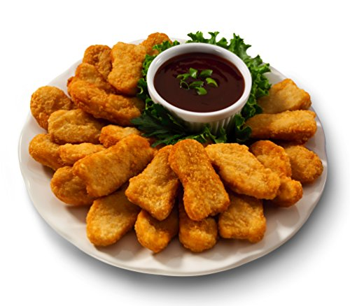 Midamar - Halal Chicken Nuggets (Fully Cooked), 10 lb case (Best Frozen Chicken Nuggets Brand)