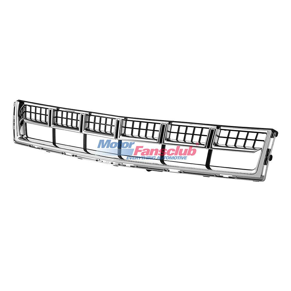 Chrome MotorFansClub Front Grill for Cadillac SRX 2013 2014 2015 Bumper Lower Grille Hood Mesh Grill