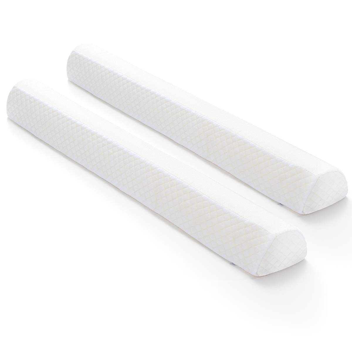Amazon Com Toddler Bed Rail Bumpers 2 Pack Safety Sleep Bedside Rail Guard For Toddlers Kids Baby Memory Foam Long Pillow Pads With Non Slip Machine Washable Cover Shinnwa Kitchen
