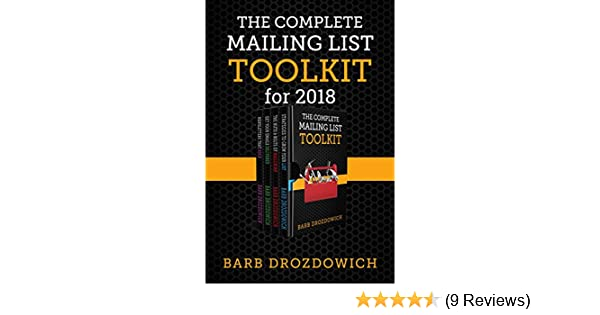 Amazon The Complete Mailing List Toolkit A Box Set Ebook Barb