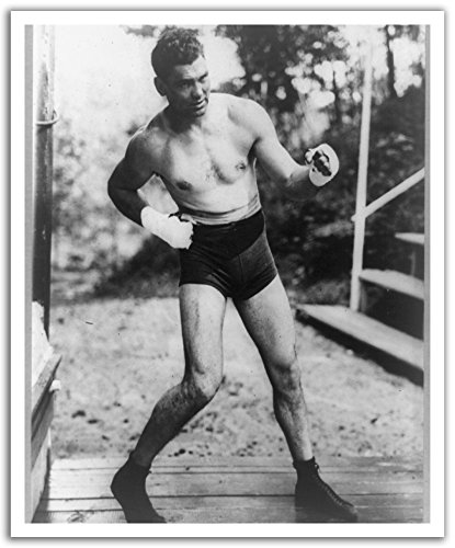 - JP London POS2474 U-Strip Peel and Stick Vintage Jack Dempsey Boxing Champ Removable Wall Decal Sticker Mural,  19.75