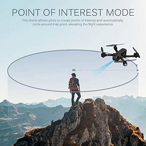 MOZATE SJ R/C Z5 GPS 1080P Wide-Angle Camera WiFi FPV RC Drone Quadcopter +Backpack (Black) by MOZATE (Image #7)