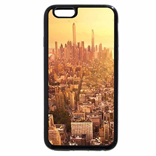 iPhone 6S / iPhone 6 Case (Black) new york, sunrise, usa