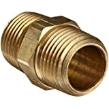 Anderson Metals 56122-08 1/2-Inch Brass Hex Nipple