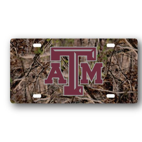 - NCAA Texas A&M Aggies License Plate Camo