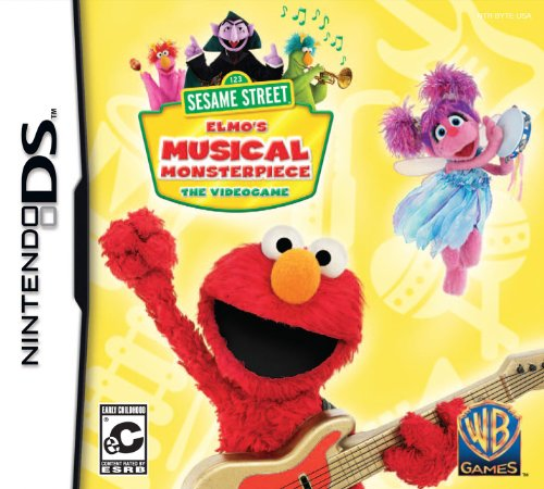 Sesame Street: Elmo's Musical Monsterpiece - Nintendo DS (Nintendo Ds Toddler)