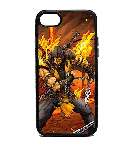 Amazon com: Phone Case Mortal Kombat Scorpion for iPhone 7