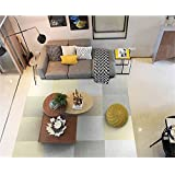 Home Decor Staircase Stepping Mat Self Adhesive Splicing Carpet Square Corner Pad Solid Polyester Floor Mats Light Gray