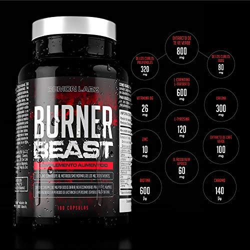 burner beast quemagrasas