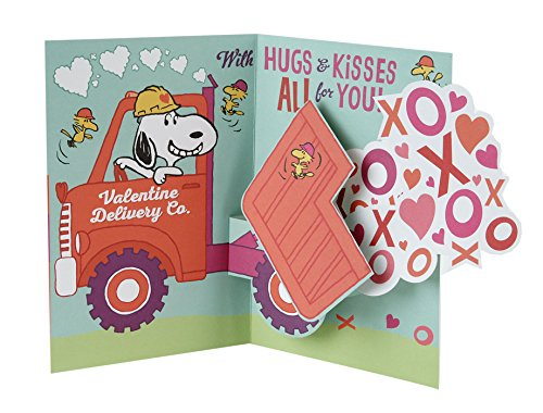Hallmark Peanuts Valentine's Day Pop Up Card (Snoopy and Woodstocks) Photo #6