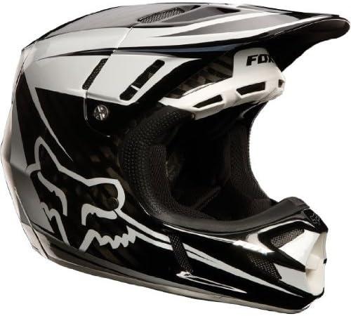 Fox Racing V4 Flight Carbon Helmet Carbon, XX-Large