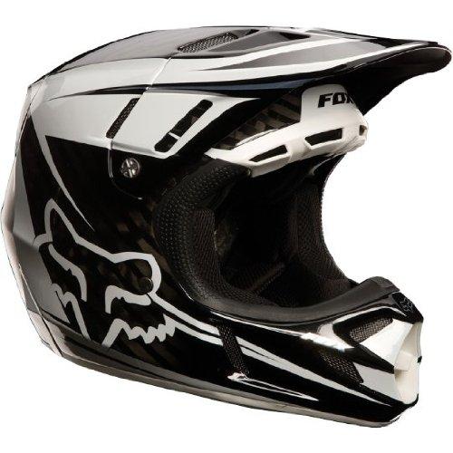 Fox Racing Flight Men's V4 MX/Off-Road/Dirt Bike Motorcycle Helmet - Carbon /...