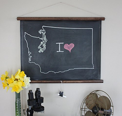 Chalkboard State Map, STATES O-W: Ohio to Wyoming