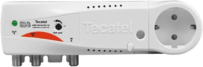 Tecatel amplificacion - Amplificador interior 24db toda banda lte