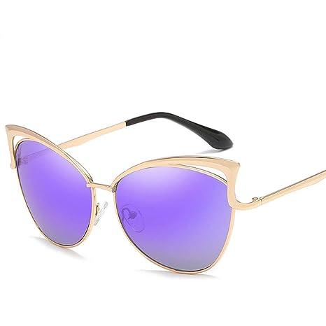 Yuany Nuevo Gato Gafas Gafas de Sol Tendencia de Moda Gafas ...