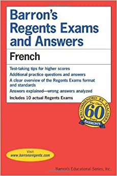 Barron's Regents Exams and Answers: French by Christopher Kendris Ph.D. (2009-09-01)