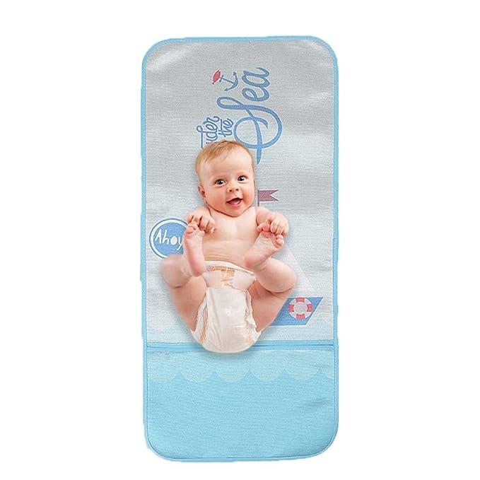 FOONEE Columpios y mecedores de Seda para Asientos de Coche Colchoneta de Verano para beb/é sillas Altas cochecitos de Correr Asiento de Sillita Universal Transpirable para Cochecito de beb/é
